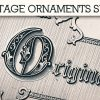 Vintage Ornaments Vector Pack 5 products designious vintage ornaments 6 small