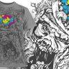 T-shirt Design 784 products designious vector t shirt design 783