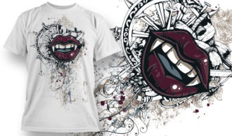 T-shirt Design 788 T-shirt Designs and Templates vector