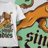 T-shirt Design 795 T-shirt Designs and Templates vector