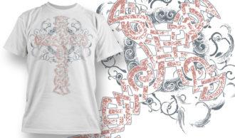 T-shirt Design 823 T-shirt Designs and Templates vector
