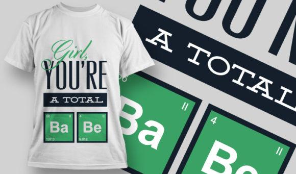 T-shirt Design 833 T-shirt Designs and Templates vector