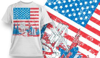 T-shirt Design 852 T-shirt Designs and Templates vector