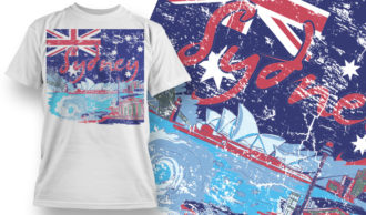T-shirt Design 853 T-shirt Designs and Templates vector