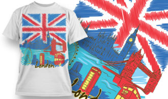 T-shirt Design 854 T-shirt Designs and Templates vector