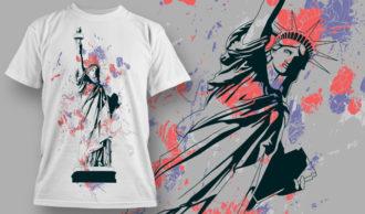 T-shirt Design 855 T-shirt Designs and Templates vintage