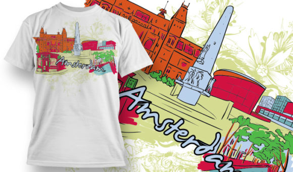 T-shirt Design 857 products designious vector tshirt 857