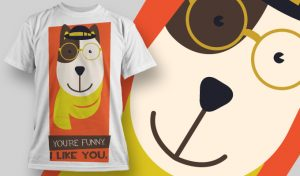 T-shirt Design 864 T-shirt designs and templates vector
