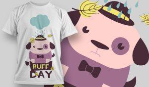 T-shirt Design 872 T-shirt designs and templates vector