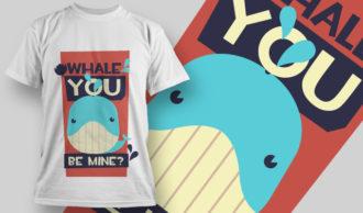 T-shirt Design 873 T-shirt Designs and Templates vector