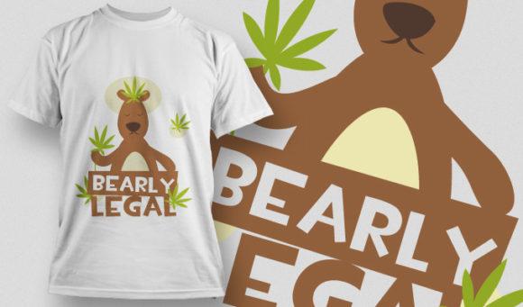 T-shirt Design 887 T-shirt Designs and Templates vector