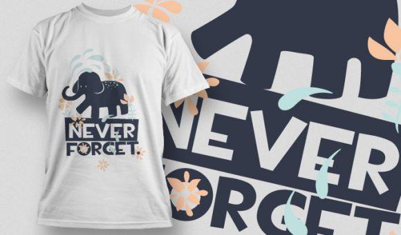T-shirt Design 889 T-shirt Designs and Templates vector