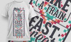 T-shirt Design 1001 T-shirt designs and templates vector