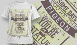 T-shirt Design 1002 T-shirt designs and templates vector