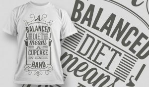 T-shirt Design 1004 T-shirt designs and templates vector
