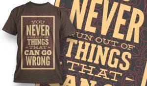 T-shirt Design 1009 T-shirt designs and templates vector