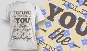 T-shirt Design 1010 T-shirt designs and templates vector