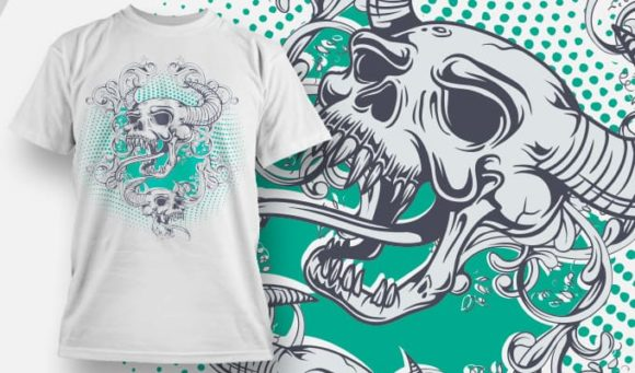 T-shirt Design 1118 T-shirt Designs and Templates vector