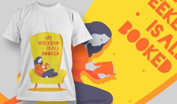 T-shirt Design 1187 T-shirt designs and templates vector