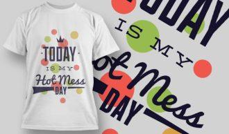 T-Shirt Design 1202 T-shirt Designs and Templates vector