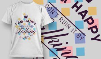 T-Shirt Design 1206 T-shirt Designs and Templates vector