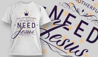 T-Shirt Design 1209 T-shirt Designs and Templates vector