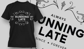 T-Shirt Design 1210 T-shirt Designs and Templates vector
