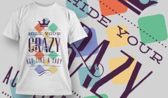 T-Shirt Design 1214 T-shirt Designs and Templates vector