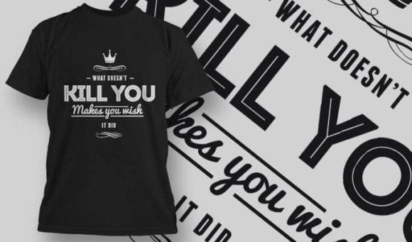 T-Shirt Design 1217 T-shirt Designs and Templates vector