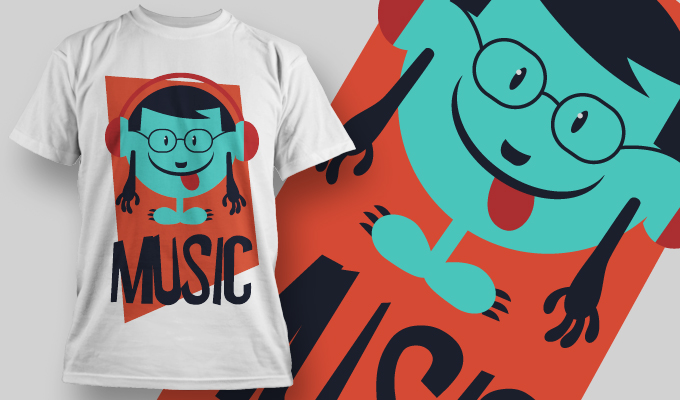 T-shirt Design 906 T-shirt designs and templates vector