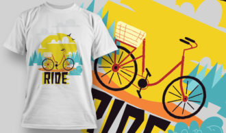 T-shirt Design 969 T-shirt Designs and Templates vector