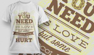 T-shirt Design 997 T-shirt designs and templates vector