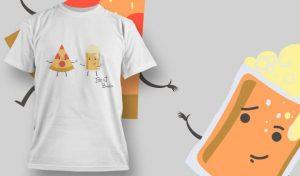 T-Shirt Design 1094 T-shirt designs and templates vector