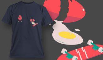 T-Shirt Design 1095 T-shirt Designs and Templates vector