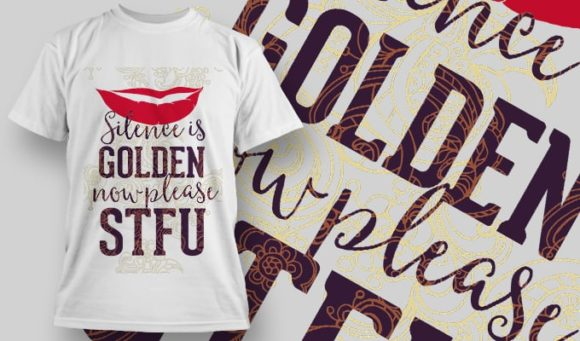 T-Shirt Design 1236 T-shirt Designs and Templates vector
