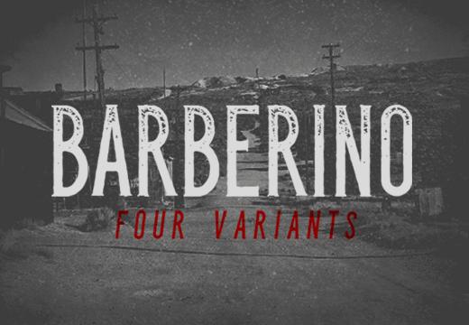 Barberino Font Family barberino font preview