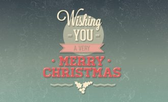 Christmas day typographic elements Freebies christmas