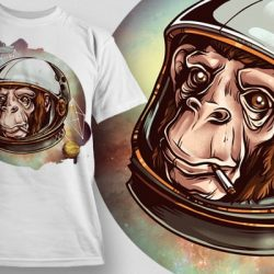 designious-cosmic-chimp-tshirt-mockup