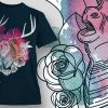 T-Shirt Design Plus - Stag 1
