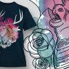 T-Shirt Design Plus - Stag 3