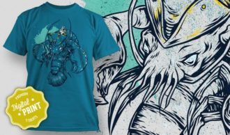 T-Shirt Design Plus – Lobster T-shirt Designs and Templates vector