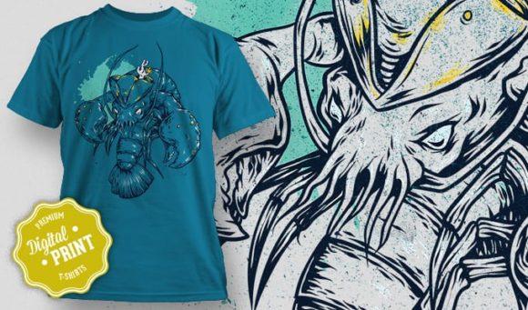 T-Shirt Design Plus - Lobster 5