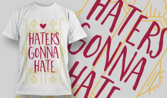 T-Shirt Design 1265 T-shirt Designs and Templates vector