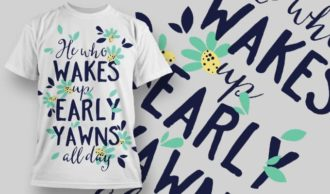 T-Shirt Design 1291 T-shirt Designs and Templates vector