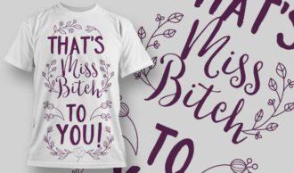 T-Shirt Design 1312 T-shirt Designs and Templates vector