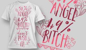 T-Shirt Design 1316 T-shirt designs and templates vector
