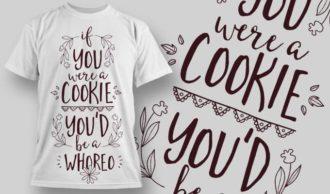 T-Shirt Design 1319 T-shirt Designs and Templates vector