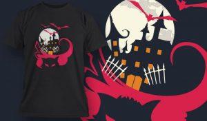 T-Shirt Design 1325 T-shirt designs and templates vector