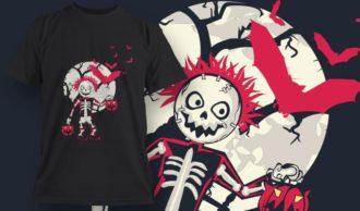 T-Shirt Design 1330 T-shirt Designs and Templates vector