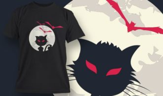 T-Shirt Design 1331 T-shirt Designs and Templates vector